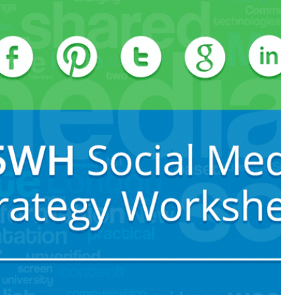 5WH Social Media Strategy (with Worksheet)