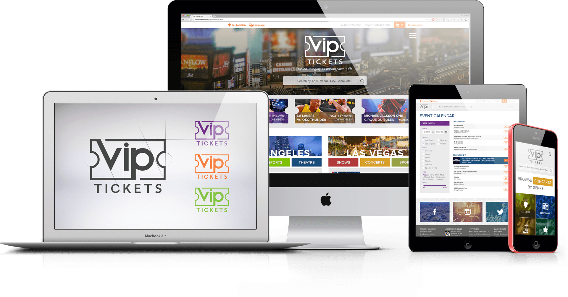 Vip Tickets Case Study Webfor