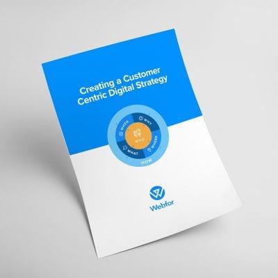 Customer Centric Digital Strategy Worksheet Download