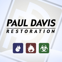 Web Design for Paul Davis Restoration