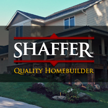 Webdesign for Shaffer Homes