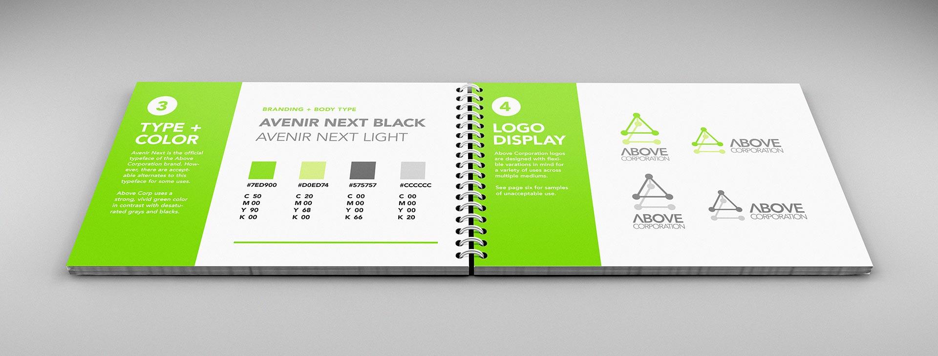 logo design brand guide