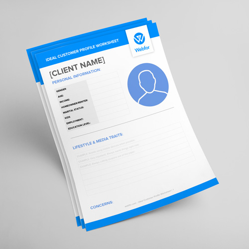 Download The Ideal Customer Profile Worksheet  Webfor