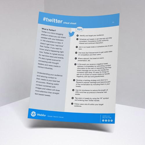 Twitter Infocard