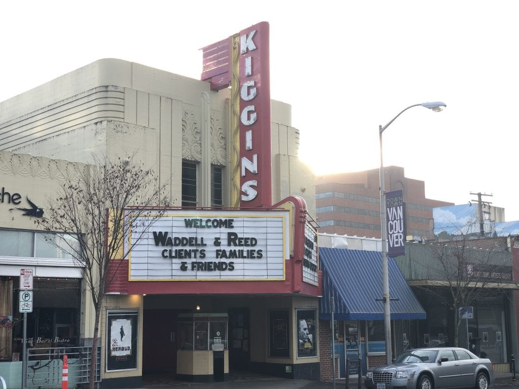 Kiggins Theater in Vancouver WA