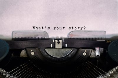 what's your story on type writer